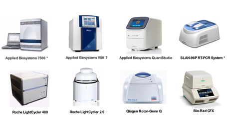 a list of PCR systems coompatible with BGI''s detection kits